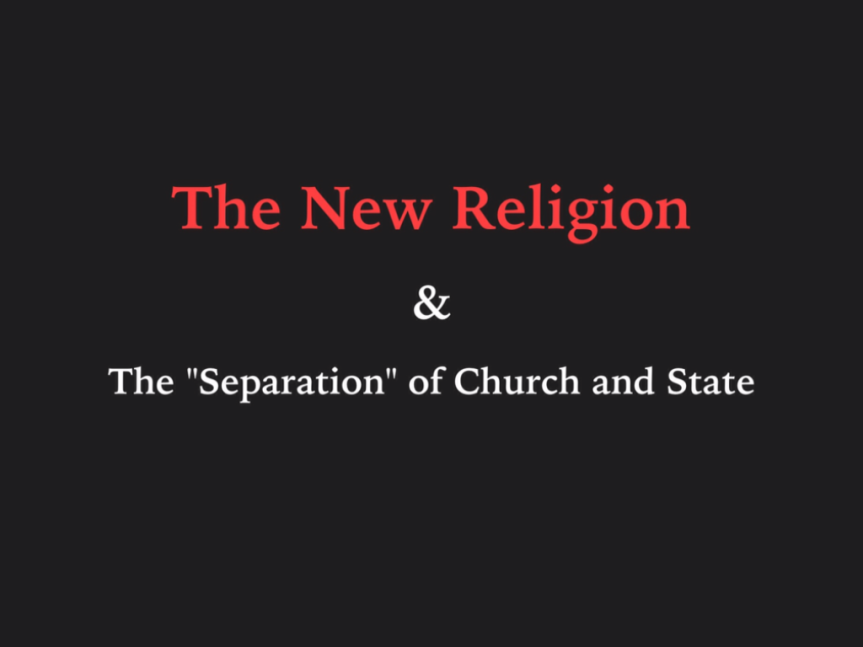 The New Religion [Part two]: Persecution